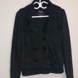 Casual button front jacket